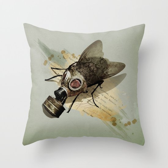 Pretty Dirty Little Thing Throw Pillow