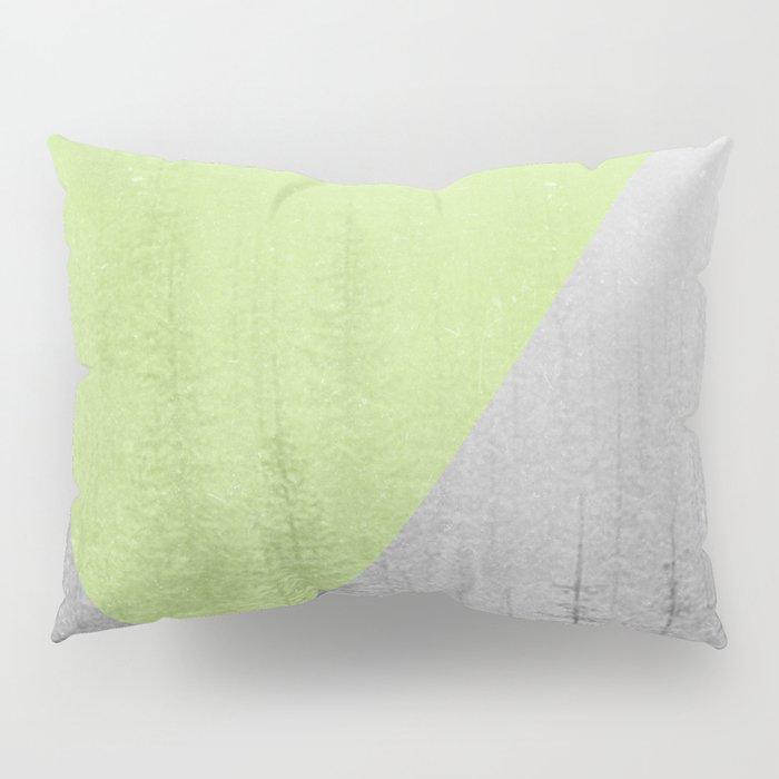 NEON NATURE   Green Pillow Sham