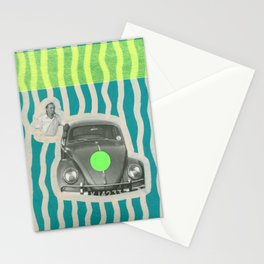 The Illusionist With His Car Stationery Cards