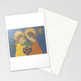 Mosaic Nativity Stationery Cards