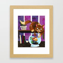 Gotcha! Framed Art Print