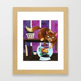 Gotcha! Framed Art Print