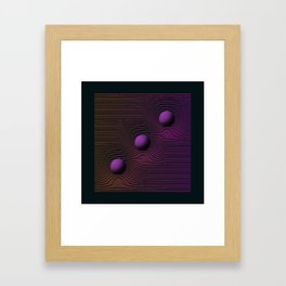 EXPERIMENT_28 Framed Art Print