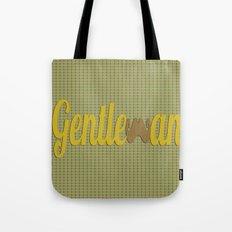 Gentleman (Short Mustache) Tote Bag