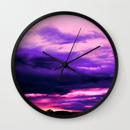Live it up Tee Wall Clock