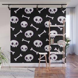Cute Skulls Wall Mural