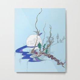 Moon Stream Metal Print