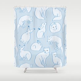 Arctic Pattern Shower Curtain