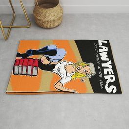 Lawyers do  it better Rug