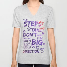 The Step You Tak Don't Need To Big - Jemma Simmons - Agents of SHIELD Unisex V-Neck