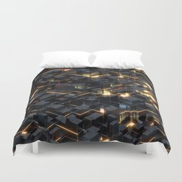 In Like Flynn Duvet Cover