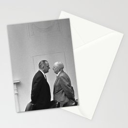 LBJ Giving The Treatment Stationery Cards