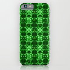 Fractal Clover Pattern Slim Case iPhone 6s