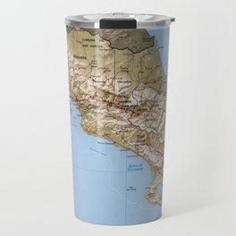Costa Rica Map (1991) Travel Mug
