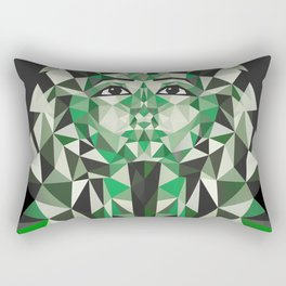Ghost of Tutankhamun Rectangular Pillow