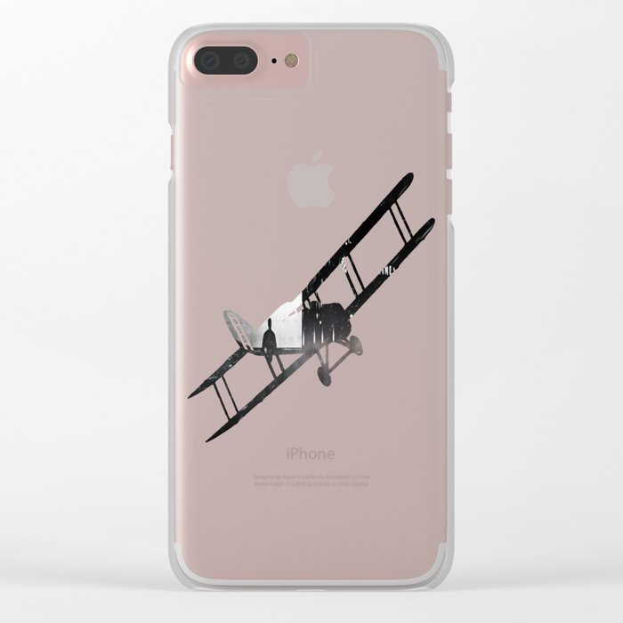 Out of Time Clear iPhone Case