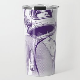 Space Woman Travel Mug