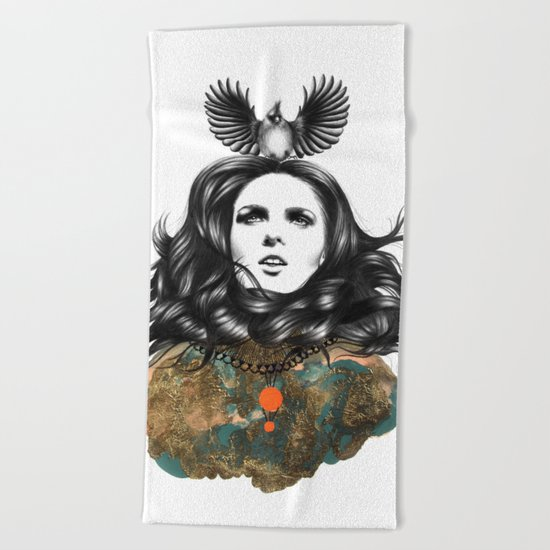 US AND THEM / THE OATH Beach Towel