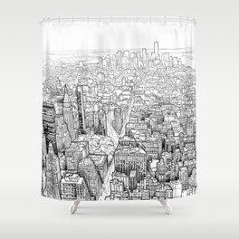 New York Shower Curtain