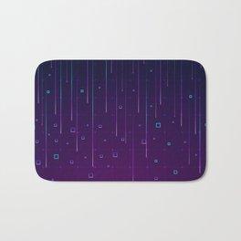 Pixelrain Video Games Inspired Pattern Bath Mat