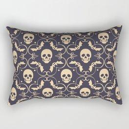 Happy halloween skull pattern Rectangular Pillow