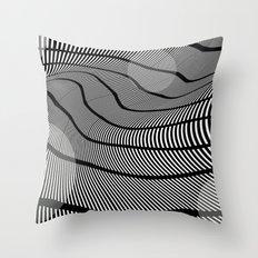 Mid-Century Mod 2 Throw Pillow