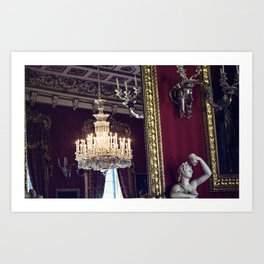 Royal. Art Print