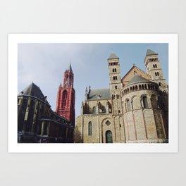 Colorful  Churches Art Print