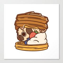 Puglie Waffles Canvas Print