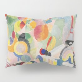 "Robert Delaunay ""Homage to Blériot"" (study) Pillow Sham"