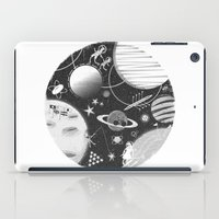 sport iPad Cases featuring SPACE & SPORT by Kiley Victoria