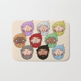 Beards Bath Mat