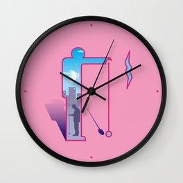 Dimension ~ Sign / Yo-yo Wall Clock