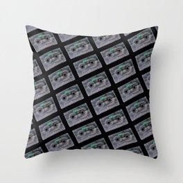 Retro Fashion Cassettes! Throw Pillow