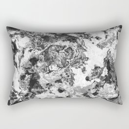 Winter - Study In Black And White Rectangular Pillow