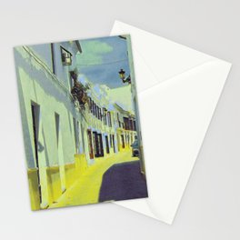 Narrow Street In Provence IV Stationery Cards