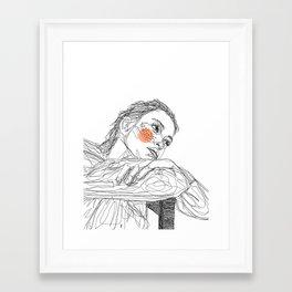 penni Framed Art Print