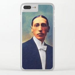 Igor Stravinsky, Music Legend Clear iPhone Case