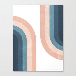70s Rainbow Canvas Print
