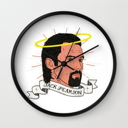 We don't deserve St. Jack Pearson. Wall Clock