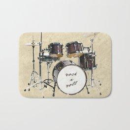 Drumkit Bath Mat