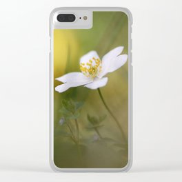 Anemone. Clear iPhone Case