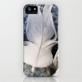 Feather & Stone iPhone Case