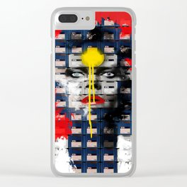 Disk Head 1 Clear iPhone Case