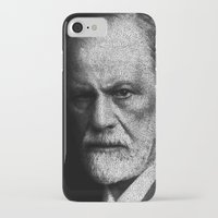freud iPhone & iPod Cases featuring Sigmund Freud quote by JuanOsborne
