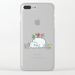 Sleeping with an Audience Clear iPhone Case