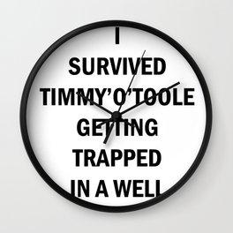 Little Timmy Wall Clock