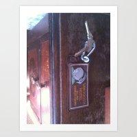sawtooth hotel Art Print