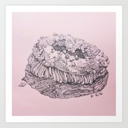 Paris Brest -- Painstaking Pastry Art Print