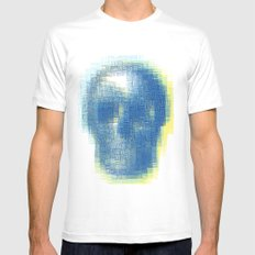 Beauty from inside MEDIUM White Mens Fitted Tee